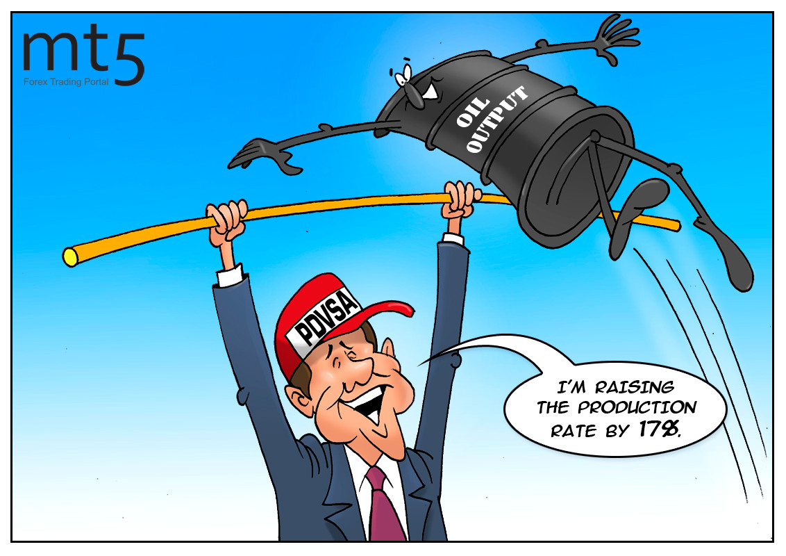 委内瑞拉的原油产量在11月跃升