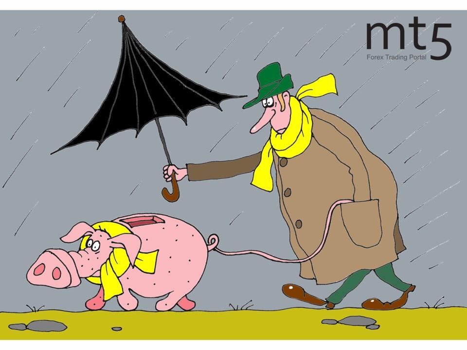 Eurozone citizens deposit into savings accounts