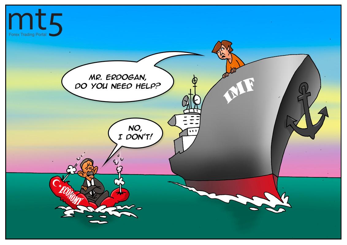Erdoğan không có kế hoạch yêu cầu IMF giúp đỡ