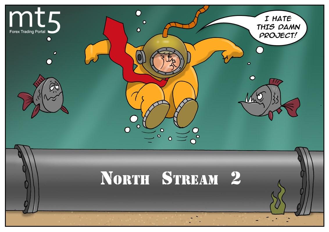 Американският кръстоносен поход срещу ''Северен поток 2'' набира инерция