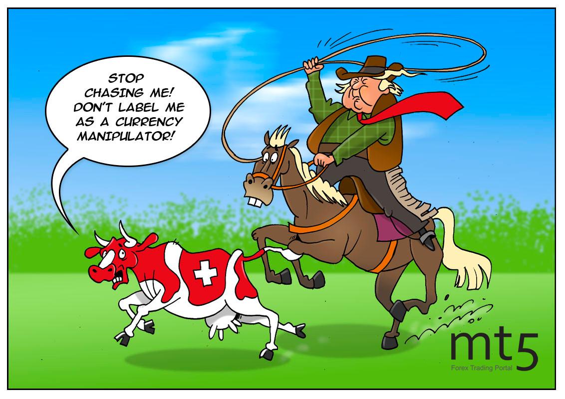 AS akan memberi label Switzerland sebagai manipulaor mata uang