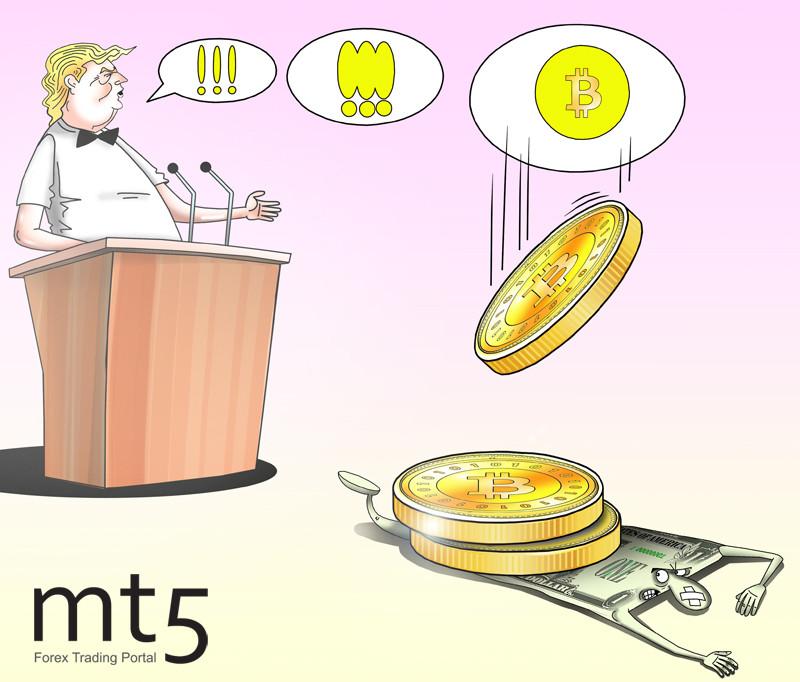Trump's election campaign to trigger bitcoin pump
