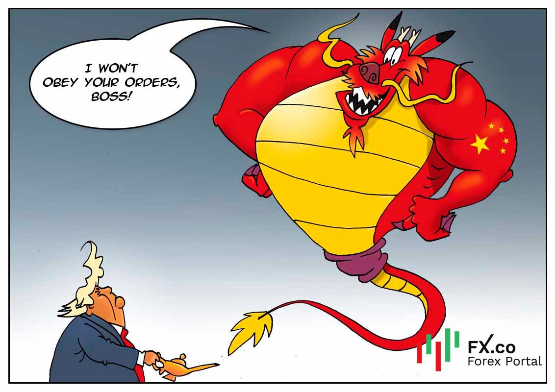 ประเทศจีนต้องการให้สหรัฐเลิกการกดดันต่อบริษัทสัญชาติจีน