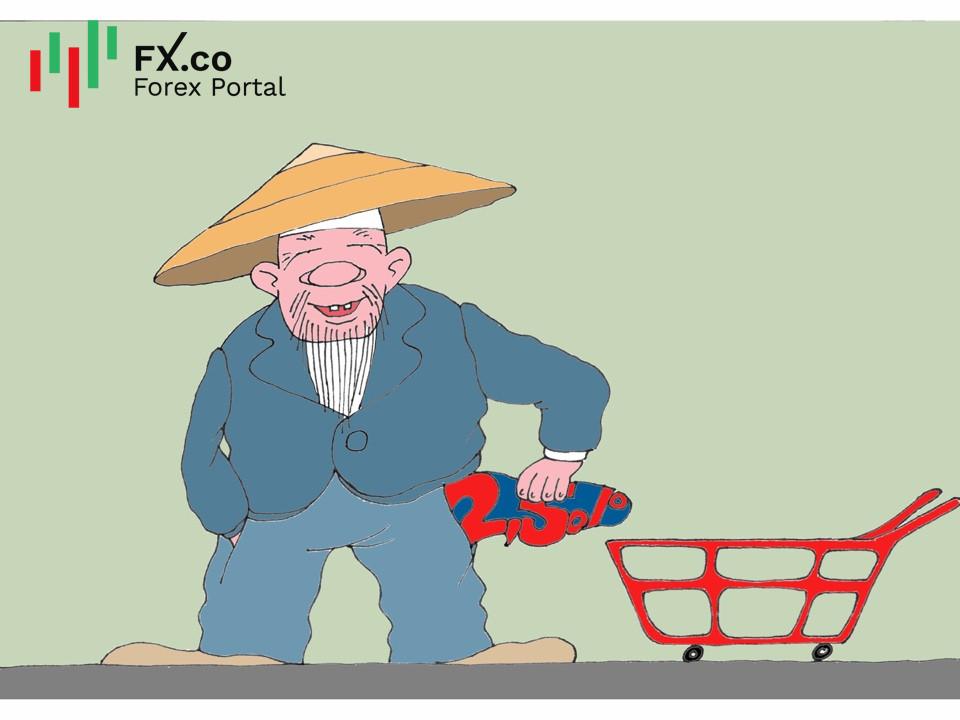 Inflación de China alcanza 2,5% en 2020