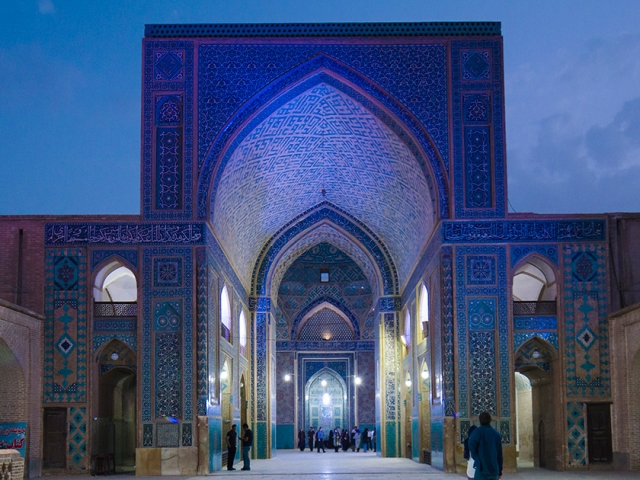 Great mosque of isfahan architectural software