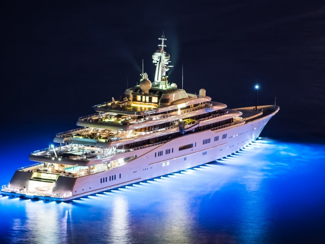 Top 10 World S Largest Yachts Pk