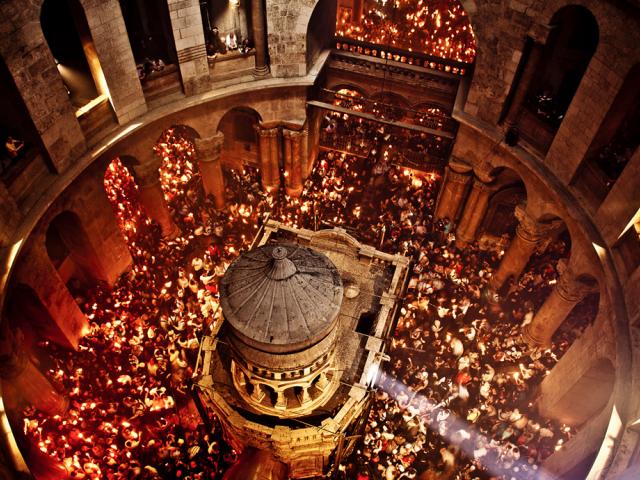 Благодатный огонь Пасхи: 7 свидетельств из Иерусалима