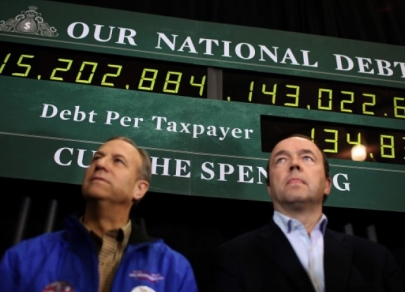 The US national debt reached its limit