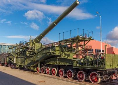 Экспонаты самого большого в России Музея железных дорог