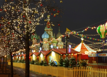 Lampu Krismas terbaik di dunia di negara yang berbeza