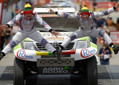 Best moments from Dakar Rally 2018