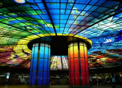 Самые красивые станции мирового метрополитена