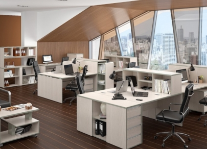 Five recent trends in office design