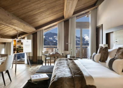 Hotel terbaik di Courchevel