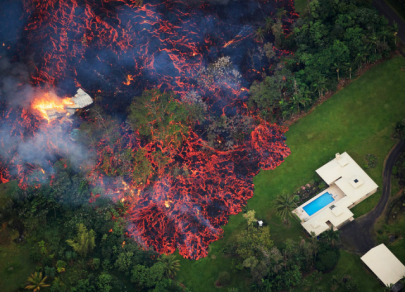 Kilauea volcano began erupting more than six weeks ago