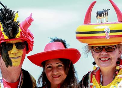 Co si oblékají fanoušci Světového poháru 2018