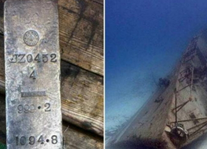 Largest treasures found on sunken ships