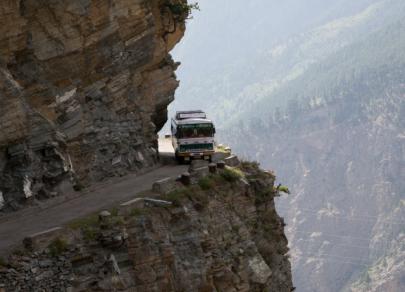 Top 10 des routes les plus dangereuses au monde