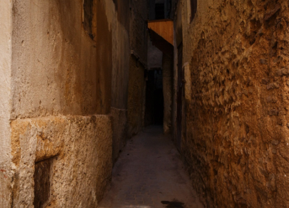 Five narrowest streets in the world