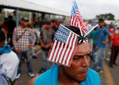 Promised land: Caravan of immigrants makes its way toward US border