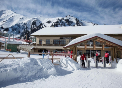 Most popular ski resorts in CIS in 2020