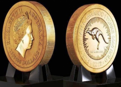 Top 7 world's heaviest coins