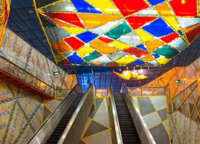 7 most beautiful subway stations around the world