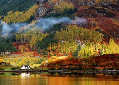 Золото и медь осени: 7 вдохновляющих европейских пейзажей