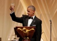 Das letzte Staatsbankett im Weißen Haus für die Obamas