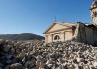 Italienische Städte nach dem Erdbeben