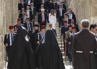 ترامب يزور حائط البراق، وكنيسة الضريح المقدس في القدس