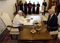 ڈونالڈ ٹرمپ نے پوپ سے ملاقات کی
