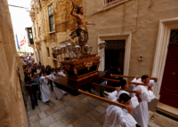 Catholics and Protestants around the world celebrated Easter