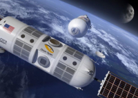 The American company plans to launch the world's first space hotel