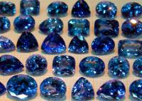 Rare and unique semi-precious stones of the world