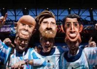 Lo que los fanáticos usan en la Copa del Mundo 2018