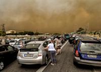V Řecku zuří lesní požáry