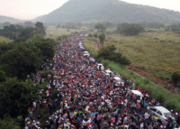 Promised land: Caravan of immigrants makes its way toward US border