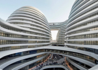 Eight futuristic world's buildings
