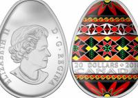 Топ-5 канадских монет-писанок
