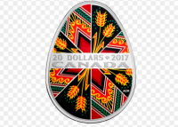 Top-5 pysanka coins of Canada