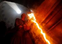 Obrad zostúpenia Svätého ohňa v Jeruzaleme: sedem zaujímavostí