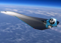Virgin Galactic lança novas aeronaves do tipo Concord-