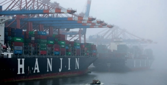 South Korea's Hanjin Shipping is declared bankrupt