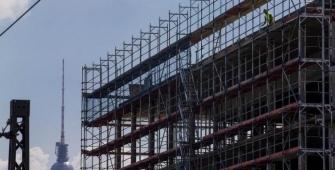 Órdenes de construcción alemán suben en abril