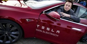 Акции Tesla подешевели до минимума мая