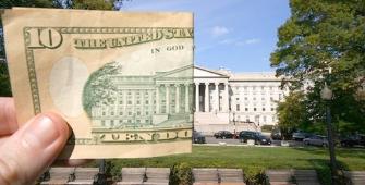 Минфин США спровоцирует скачок доллара