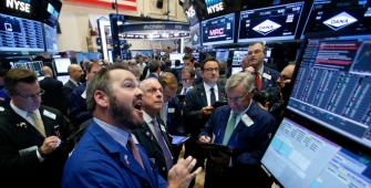 Wall Street Gains as Dow, S&P 500 and Nasdaq End at Records