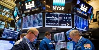 美股随着朝鲜紧张和科技股抛售下跌