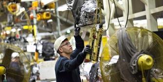 США: промышленное производство в октябре резко возросло